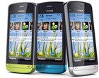 5-megapikselowy aparat : 3.2-megapikselowy aparat ekran dotykowy GPS slider Symbian Belle Symbian S40 Symbian S60