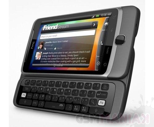 HTC DEsire Z/fot. HTC