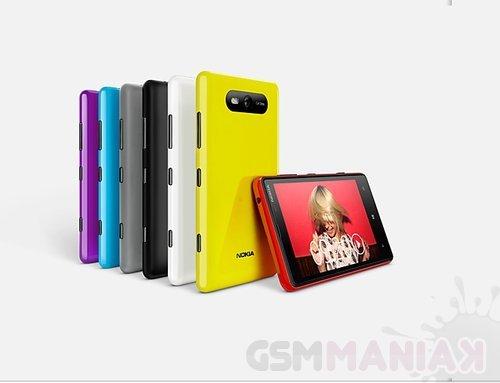 Nokia Lumia 820 – pełna specyfikacja telefonu