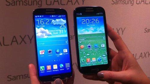 Samsung Galaxy S4 i SIII / źródło: techradar.com