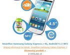 dobry smartfon z lte promocja na galaxy express Samsung Galaxy Express na ibood