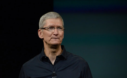 Tim Cook, fot. The Verge