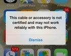 iOS 7 blokuje działanie nieoryginalnych ładowarek