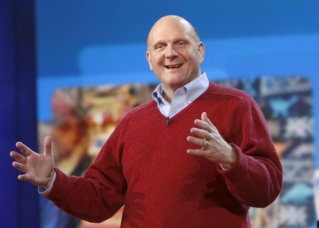 Steve Ballmer / fot. Microsoft Sweden