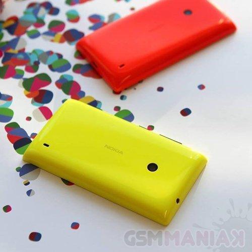 Nokia Lumia 525 Yellow Nokia Lumia 525 Fot