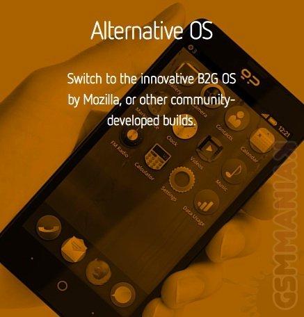 Geeksphone Revolution z Firefox OS i Androidem