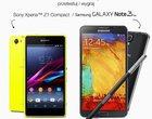 Samsung Galaxy Note 3 Neo i Sony Xperia Z1 Compact w akcji Testuj z Orange
