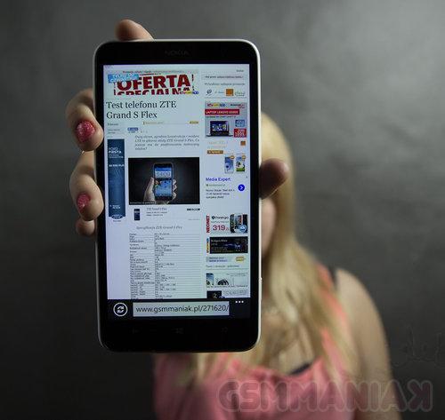 Nokia Lumia 1320 / fot. gsmManiaK.pl