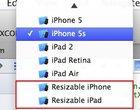 Xcode 6 potwierdza plotki o nowych rozmiarach iPhone'a i iPada