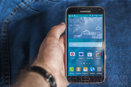 Samsung Galaxy S5 / fot. gsmManiaK.pl