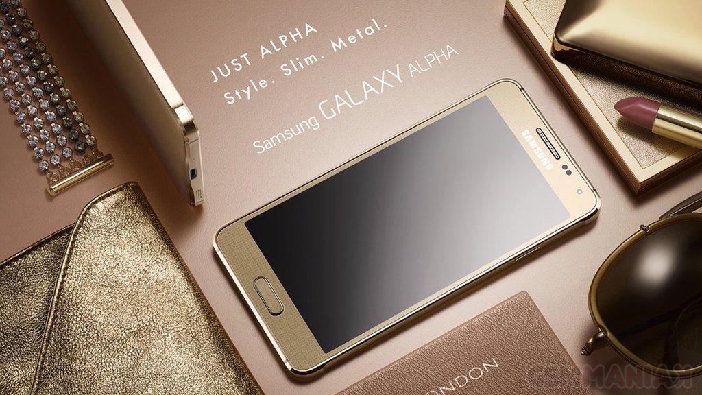 Samsung Galaxy Alpha / fot. Samsung