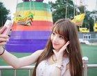smartfon do selfie Sony sony selfie