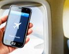 samoloty smartfon na pokładzie telefon w samolocie