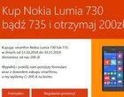 Microsoft oddaje 200 zł za zakup smartfona Lumia 730 lub Lumia 735