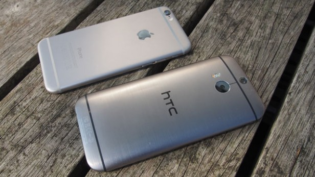 HTC One M8 i iPhone 6 / fot. TrustedReviews