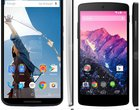 6-calowy ekran Flagowiec nowy Nexus porównanie premium QHD seria Snapdragon 805