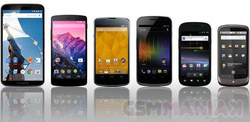 Smartfony Nexus