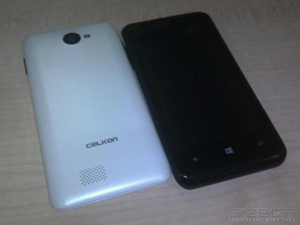 Celkon Win400 / fot.MobileIndian