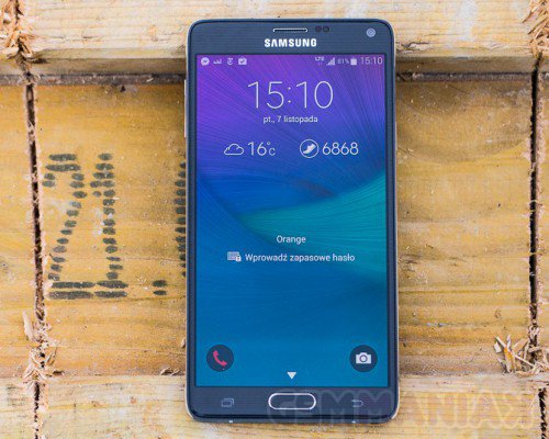 Samsung Galaxy Note 4 / fot. gsmManiaK.pl