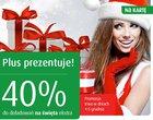 40% doładowania doładowanie na Mikołajki oferta na kartę Plus na Kartę promocja za doładowanie