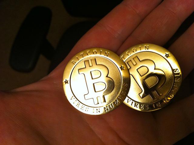 Bitcoiny / fot. Flickr by Zach Copley