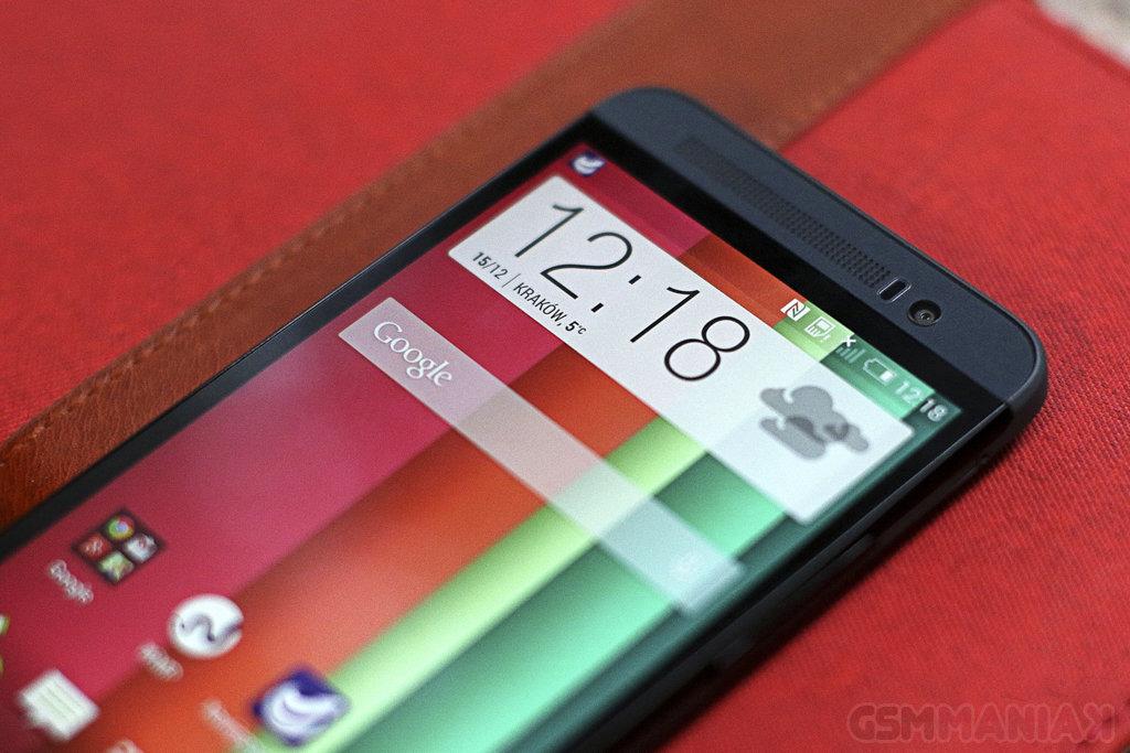 HTC One (E8) / fot. gsmManiaK.pl