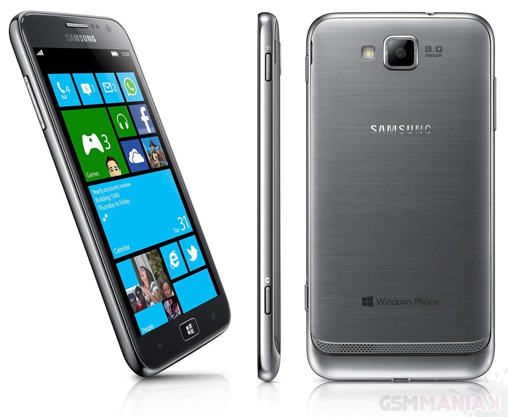 Samsung Ativ S - czy wkrótce zobaczymy więcej takich telefonów? / fot. Samsung