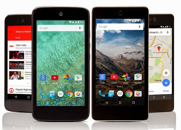 Nowe urządzenia Android One / fot. Google