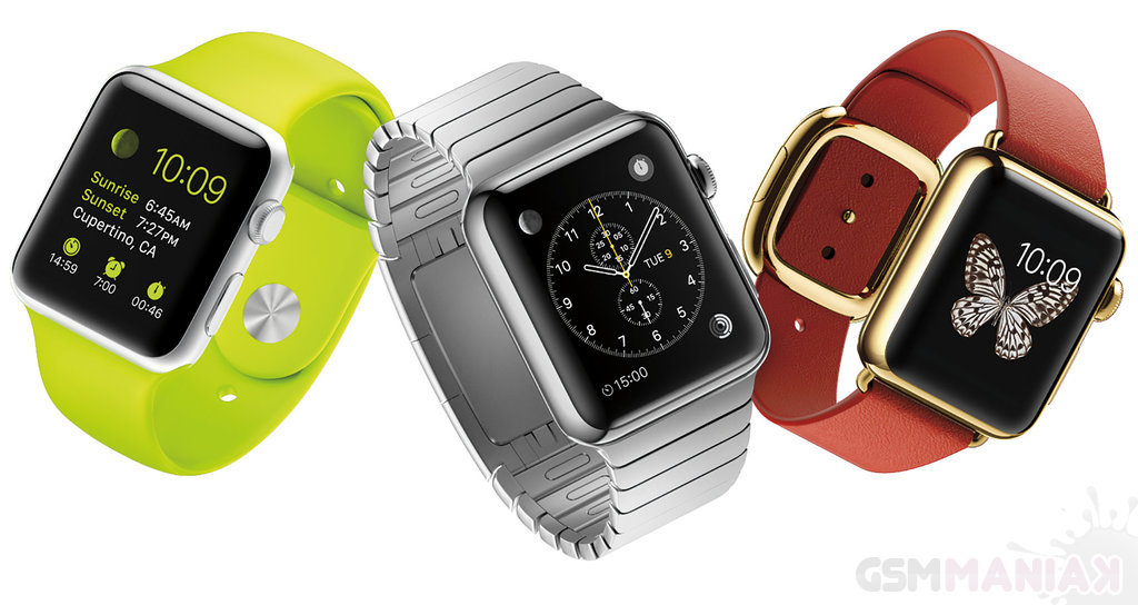 Apple Watch w wersji Sport, stalowej i Edition / fot. producenta