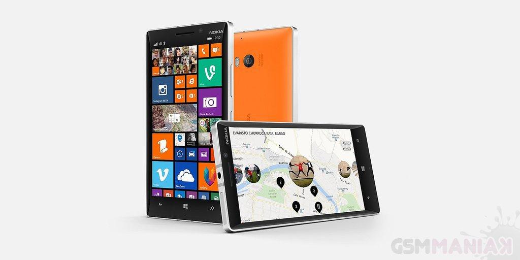 Zeszłoroczny flagowiec Lumia 930 / fot. Microsoft