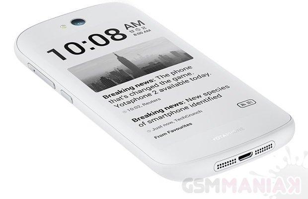 Nowa wersja kolorystyczna YotaPhone 2 /fot. YotaPhone