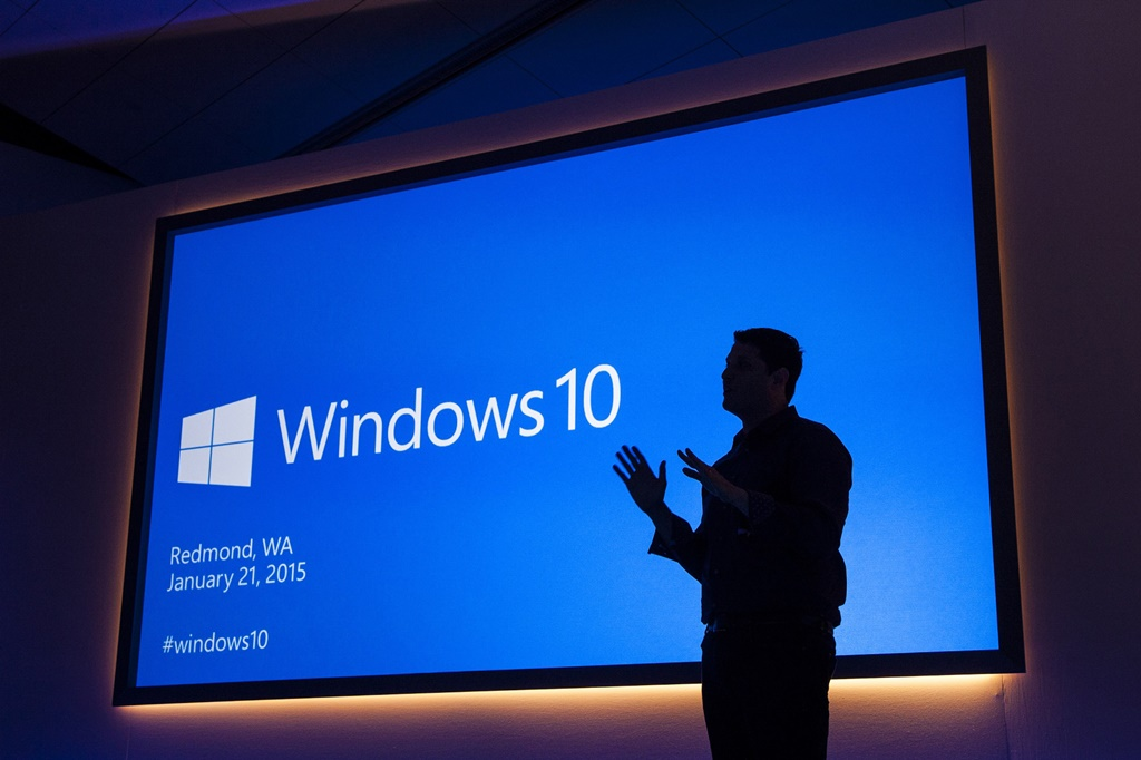 Terry Myerson prezentuje Windows 10 / fot. Microsoft