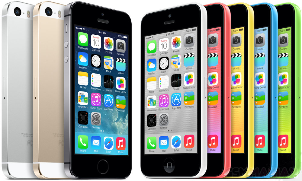 iPhone 5s / 5c / fot. Apple