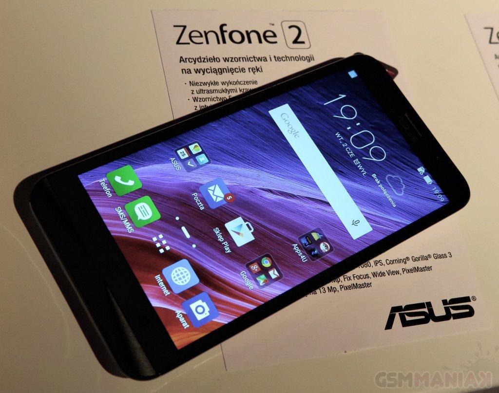 ASUS ZenFone 2 (ZE551ML) / fot. gsmManiaK.pl