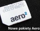 Aero Max Aero Mini Aero2 Bezpłatny dostęp do Internetu darmowy internet nowa oferta Aero2 nowe paczki paczki danych