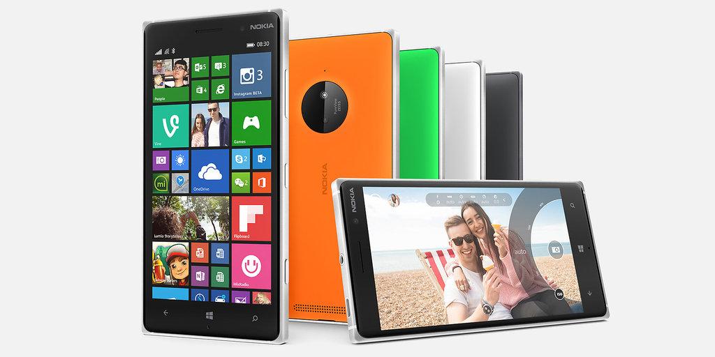 Lumia 830 / fot. Microsoft