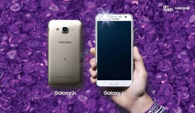 Samsung Galaxy J5 i Galaxy J7