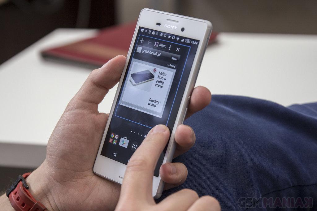 Sony Xperia M4 Aqua / fot. gsmManiaK.pl