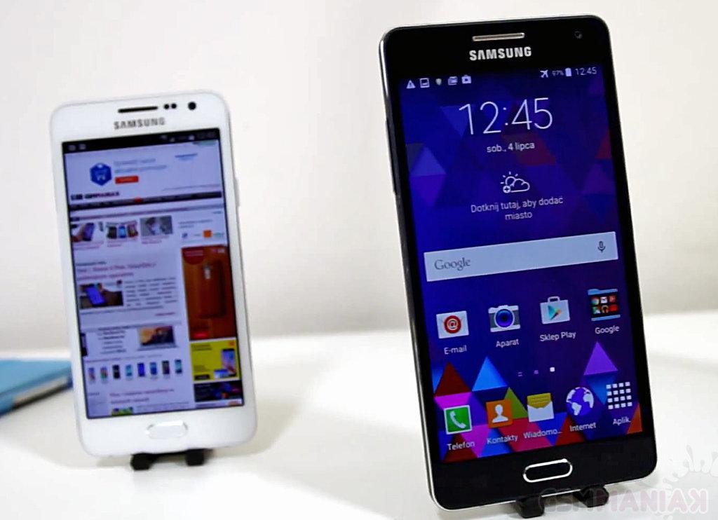 Samsung Galaxy A5 i Galaxy A3 / fot. gsmManiaK.pl