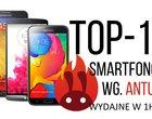 Najlepsze smartfony wg AnTuTu (ranking 1H 2015)