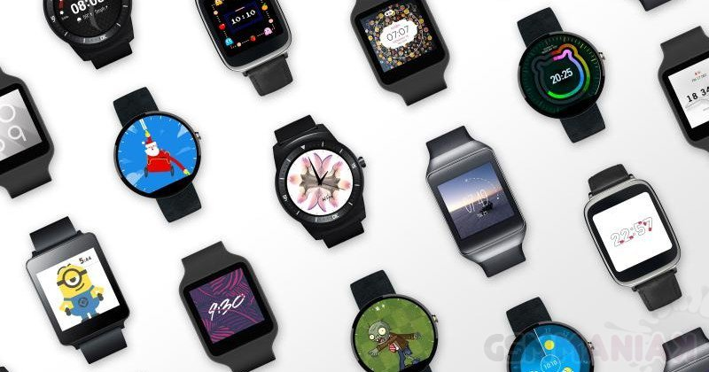 Android Wear faces / fot. Google