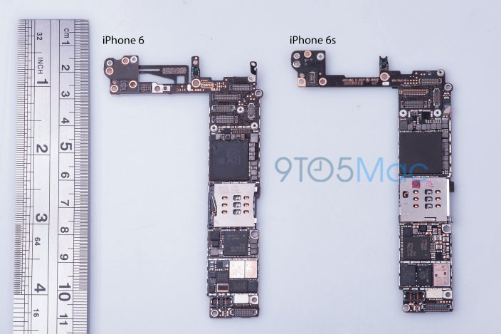 Komponent iPhone 6S /fot. 9to5mac