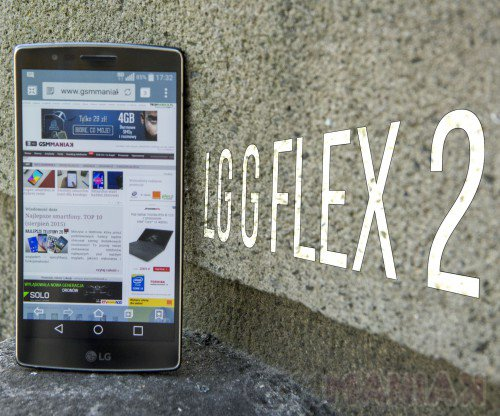 LG Flex 2/ fot. gsmManiaK