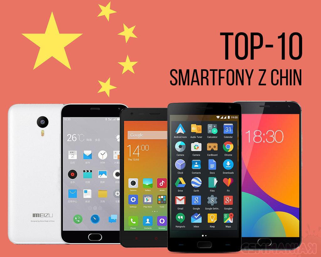 Smartfon z Chin TOP