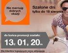 Szalone dni w Orange tylko do 18 sierpnia