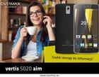 Overmax Vertis 5020 Aim z LTE i Androidem 5.1