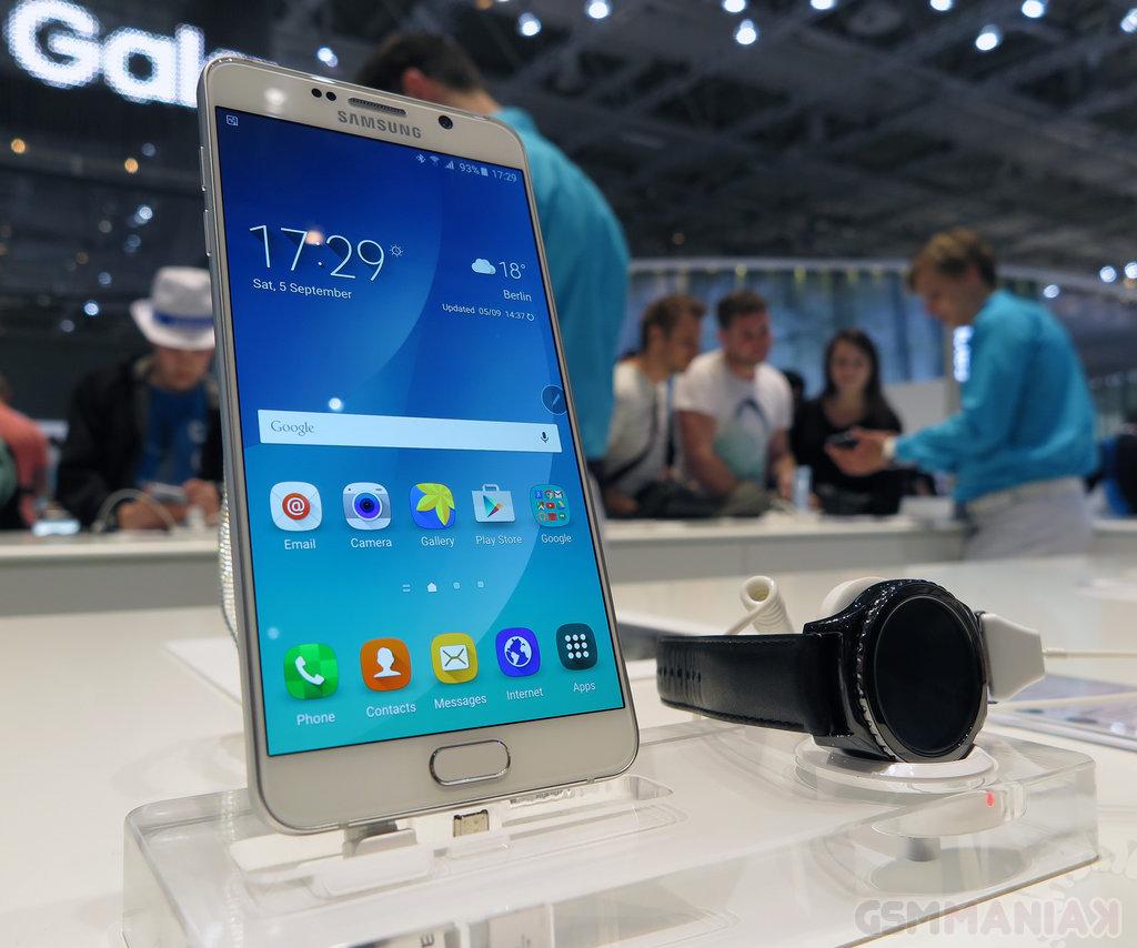 Samsung Galaxy Note 5 / fot. gsmManiaK.pl
