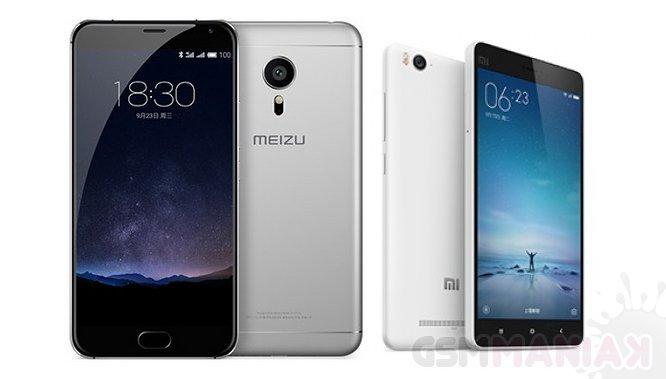 Meizu Pro 5 i Xiaomi Mi4c