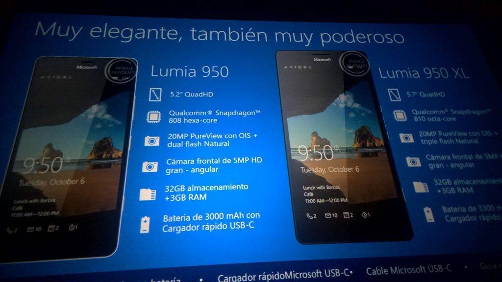 Microsoft Lumia 950 i Microsoft Lumia 950 XL
