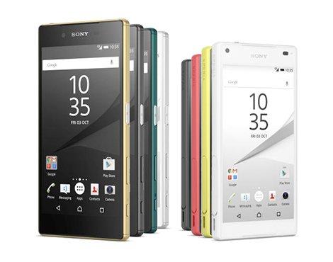 Sony Xperia Z5 i Sony Xperia Z5 Compact